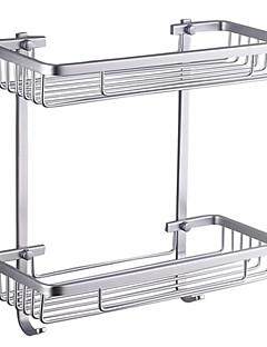 "Badezimmer Regal Aluminium Wandmontage 370 x 313 x 140mm (14.6 x 12.3 x 5.5"") Aluminium Modern"