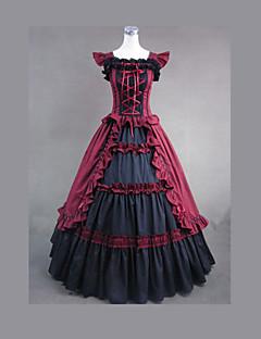 costumi cosplay vestito gothic lolita del partito d'epoca gotiche vestito vittoriano