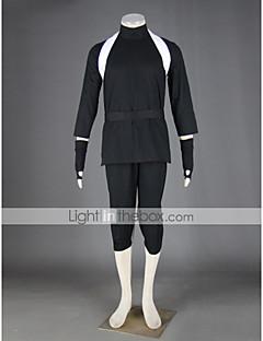 Inspireret af Naruto Kankuro Anime Cosplay Kostumer Cosplay Kostumer Patchwork Top Bukser Handsker Bælte Hat Strop Til Mand