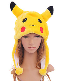 pocket lite monster pika pika søt cosplay plysj lue