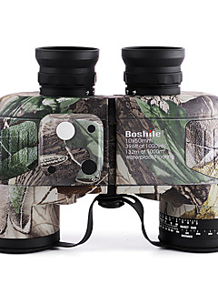 Boshile 10X50 mm 双眼鏡 防水 屋根のプリズム ナイトビジョン BAK4 全面マルチコーティング 132m/1000m 独立繰り出し式