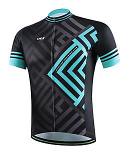 Cycling Jersey Women's / Men's / Unisex Short Sleeve Bike Breathable / Quick Dry / Moisture Permeability / Back Pocket / Sweat-wicking