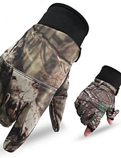 Unisex Handschuhe Freizeit Sport warm halten / tragbar / Antirutsch Frühling / Herbst / Winter Tarnfarben-Sport-M / L / XL