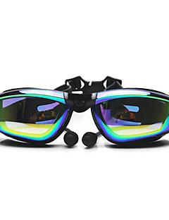FEIUPE Zwembrillen Dames / Heren / Unisex Anti-condens / Waterdicht / Verstelbare Maat / Anti-UV Silicagel PCWit / Grijs / Zwart /