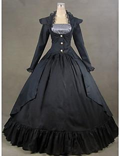 Top Sale Gothic Lolita Black  Party Dress Vintage Victorian Belle Dress