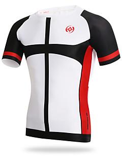 XINTOWN® Cyklodres Pánské Krátké rukávy Jezdit na kole Prodyšné / Rychleschnoucí / Odolný vůči UV záření / Komprese / Lehké materiály