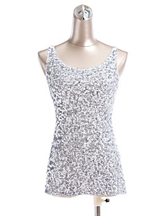 Tops Women's Sequined Pattern