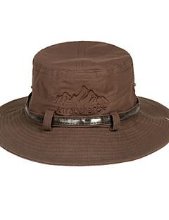 KORAMAN Unisex Summer Outdoor Anti-UV Bucket Hat with Chin