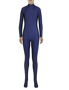 Zentai kombinézy Morphsuit Ninja Zentai Cosplay kostýmy Inkoustová modř Jednobarevné Leotard/Kostýmový overal Zentai Spandex Lycra Unisex
