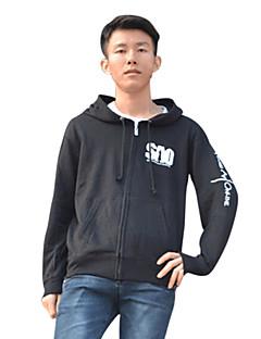 Inspired by Sword Art Online Kirito Anime Cosplay Costumes Cosplay Hoodies Print Black Long Sleeve Coat