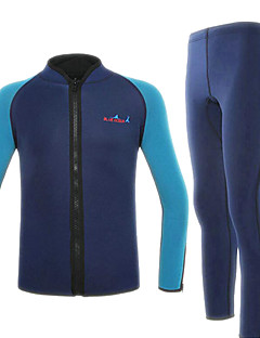 Others Unisex Diving Suits / Wetsuits Diving Suit Ultraviolet Resistant / Quick Dry / Anti-Eradiation / Thermal / Warm Wetsuits2 to 2.4