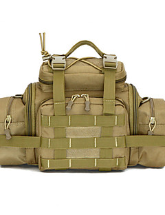 Outdoor Camping Fishing Hunting Travel Hiking Fanny Pack Belt Bag Big Tablet Camera Bag Military Tactical Waist Bag