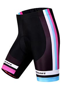 Wosawe® מכנס קצר מרופד לרכיבה לנשים נושם / ייבוש מהיר / עמיד / מגביל חיידקים / 3D לוח אופנייםמכנסיים קצרים / שורטים (מכנסיים קצרים)
