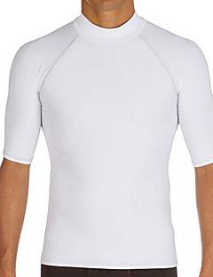 Women's Men's Dive Skins Wetsuit Skin Thermal / Warm Ultraviolet Resistant Elastane Chinlon Diving Suit Short SleeveRash guard Diving