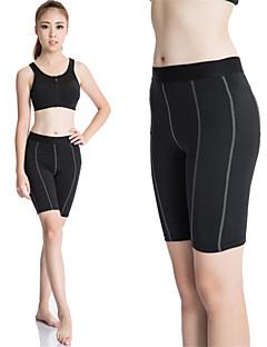 Damen Laufen Kompressionskleidung Schnitt Strumpfhosen/Lange Radhose Leggins Rasche Trocknung Videokompression SchweißableitendFrühling