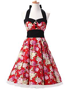 Andere Cosplay Kostüme Rot Film Cosplay Kostüme Kleid / Minimantel Baumwolle Frau