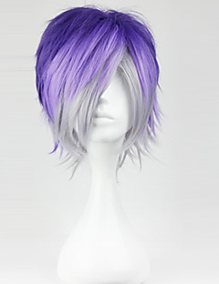 Cosplay Wigs Diabolik Lovers Sakamaki Kanato Purple Short Anime/ Video Games Cosplay Wigs 32 CM Heat Resistant Fiber Male