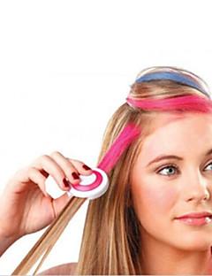 új 4 szín / set hot európai divat ideiglenes haj kréta por ideiglenes pasztell hajfesték ideiglenes kimosás