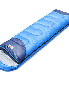 Sleeping Bag Rectangular Bag Single 15°C  220X75 Hiking / Camping Moistureproof / Waterproof / Windproof