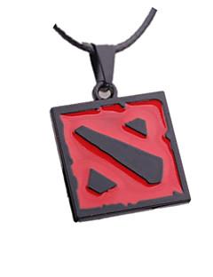 dota ii símbolo liga pingente de colar de cosplay