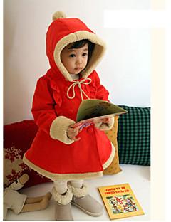 תחפושות קוספליי / תחפושת למסיבה אגדה / חליפות סנטה פסטיבל/חג תחפושות ליל כל הקדושים אדום אחיד מעילהאלווין (ליל כל הקדושים) / חג המולד /