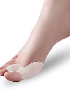 Silicone Fabric Gel Heel Bunion Toe Protector Pain Relief Free Cushion Sleeve(2 pairs)