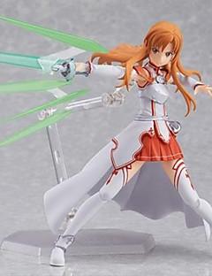 Sword Art Online Asuna Yuuki PVC Anime Action Figurer Modell Leker Doll Toy