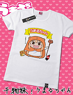 Inspired by Himouto Cosplay Anime Cosplay Costumes Cosplay T-shirt Print Yellow Short Sleeve T-shirt