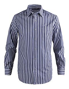 JamesEarl Herren Hemdkragen Lange Ärmel Shirt & Bluse Blau - MC1ZC001667