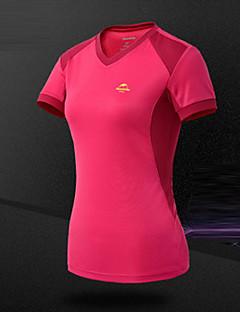 Női Planinarska majica Légáteresztő Upijanje znoja Póló mert Kempingezés és túrázás Mászás Szabadidős sport Kerékpározás/Kerékpár Futás
