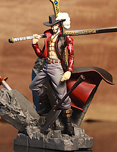 One Piece Dracula Mihawk PVC 15CM Figures Anime Action Jouets modèle Doll Toy
