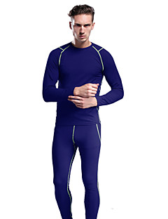 KOSHBIKE/KORAMAN® Cycling Jersey with Tights Men'sBreathable / Thermal / Warm / Quick Dry / Compression / Stretch / Four-way Stretch /