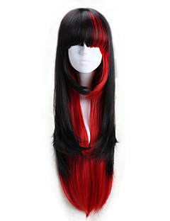Lolita Wigs Punk Lolita Lolita Lolita Wig 75 CM Cosplay Wigs Color Block Wig For