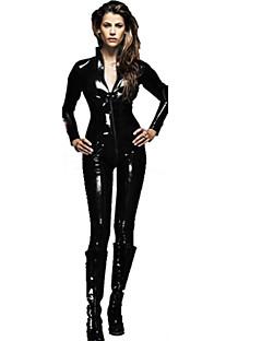 Cosplay Kostýmy Kostým na Večírek cosplay Festival/Svátek Halloweenské kostýmy Černá Jednobarevné Leotard/Kostýmový overalHalloween