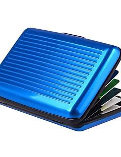 Unisex Metal Oficial / Sport / Casual / Outdoor / Birou & Carieră / Folosire Profesională / Cumpărături Card & ID PortmoneuViolet /