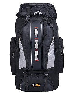 100 L mochila / Mochila para Excursão / Pacotes de Mochilas / Outros / Viagem Duffel / Organizador de Viagem / Mochila com Moldura Interna