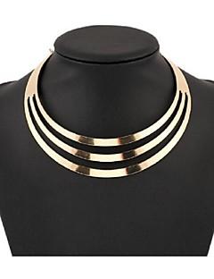 Γυναικεία Κολιέ Τσόκερ Κολιέ Δήλωση Κοσμήματα Κράμα Μοντέρνα Ευρωπαϊκό Πολυεπίπεδο κοστούμι κοστουμιών Κοσμήματα Για Πάρτι Ειδική