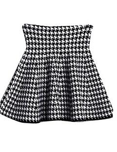 女の子の コットン スカート,春 ブラック
