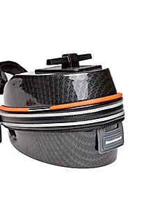 Bolsa para Bagageiro de Bicicleta (Preto / Laranja , Plástico) Multifuncional Ciclismo