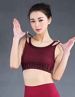 Outros®Ioga tops Respirável Stretchy Wear Sports Ioga / Fitness / Corridas / Corrida Mulheres