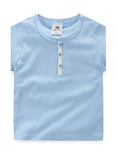 Trykt mønster Drengens T-shirt Sommer Bomuld