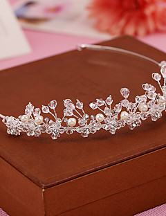 Women's / Flower Girl's Pearl / Crystal Headpiece-Wedding / Special Occasion / Casual / Outdoor Headbands 1 Piece