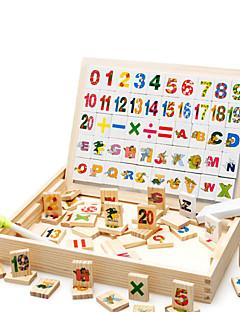boîte d'apprentissage multifonctionnel, magnétique sort de sort, le fonctionnement numérique pour les enfants des jouets