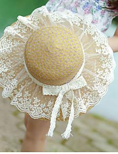 Mujer Sombrero de Paja Vintage / Bonito / Casual-Primavera / Verano-Paja