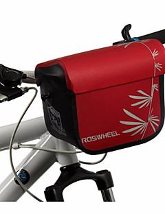 ROSWHEEL® Saco da bicicleta 3LBolsa de Ombro / Bolsa para Guidão de BicicletaZíper á Prova-de-Água / Á Prova de Humidade / Camurça de