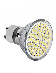 4W GU10 / GU5.3(MR16) / E26/E27 Spot LED MR16 60SMD SMD 2835 300 - 350LM lm Blanc Chaud / Blanc Froid DécorativeAC 100-240 / DC 12 / AC