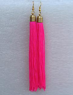 Dance Accessories Women's Performance Cotton Tassel(s) Dance Earrings