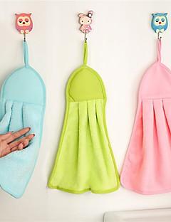 Handdoek,Effen Hoge kwaliteit 100% coral fleece Handdoek