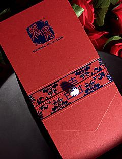 Personalisiert Hülle & Taschenformat Hochzeits-Einladungen Einladungskarten / Einladungskarten für die Verlobungsfeier-50 Stück / Set