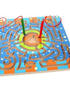 Magnetiske leker Deler 25*15 MM Magnetiske leker Maze Administrative Leker Kubisk Puslespill som Gave
